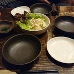 ドラムカン - 料理写真:ポテトサラダ!