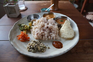 CAFE DARBUKKA - TODAY'S CURRY PLATE