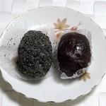 昇栄堂 味楽庵 - おはぎ(ごま&つぶ)