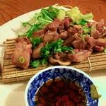 ふくろうの森 - 宮崎産親鶏の炙り焼