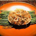 122210268 - 島根県境港の香箱蟹 内子 外子 味噌 餅米の飯蒸し
