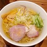 122213799 - 鶏塩ラーメン 税込750円