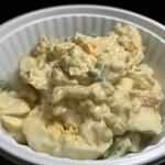 キッチンオリジン - 料理写真:小海老とアスパラのたまごサラダ