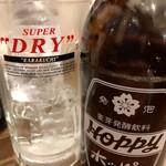 たの平亭 刺身専門店 - ホッピーセット