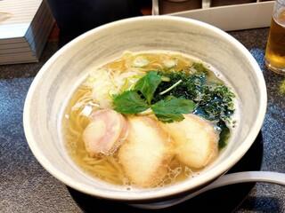満麺の笑み - 海塩
