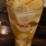 あずき色のマーカス - ざく切り凍らせレモン♪1杯め…