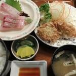 Kitahama - ぶり牡蛎御膳1580円2019年12月21日北浜