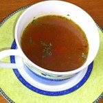 cafe Kapualani - 料理写真:ランチのスープ