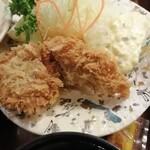 Kitahama - 大ぶりカキフライもいい感じ2019年12月21日北浜