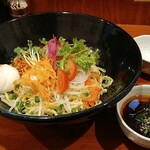 本格東京ジャージャー麺 - 東京ジャージャー麺&温たま