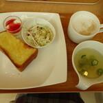 h cafe - 料理写真:Aモーニング