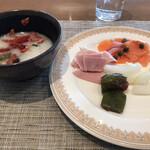 ブッフェダイニング オーシャンテラス - 朝食ビュッフェ3600円(総額)。〆です。美味しかったものを並べました(╹◡╹) 大満足の朝食でしたが(╹◡╹)