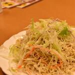 双龍居 - 細切り豆腐のサラダ