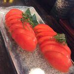 とりかわ家 - 大好きなトマトスライス