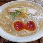 麺ゃ しき - 料理写真:【(限定) 味噌三昧 + 濃厚玉子】¥950 + ¥100