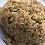 中国料理鉄人 - ネギ炒飯接写 カレーはなかった…。