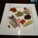 Figaro - 前菜8種盛り合わせ