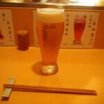 鮨竜 - 生ビール