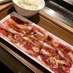 焼肉ライク - バラカルビセット(200㌘)