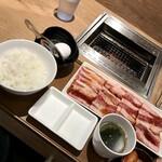焼肉ライク - 牛すき焼肉セット