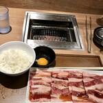 焼肉ライク - 牛すき焼肉セット(150㌘)
