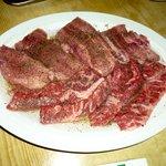 焼肉天国ヤールジャン - タン塩、牛ハラミ
