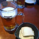 12224672 - お通しの、豆腐が美味かった!!