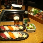 蟹問屋 キリンビール園 - 寿司もあります