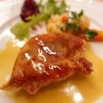ピッツェリア・サバティーニ - 鮮魚(真鯛)のサルティンボッカ