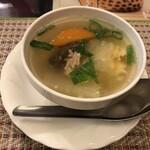 tairyourisemmontentaitai - セットのスープ