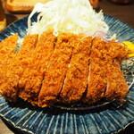 とんかつ 檍 札幌 - 特ロースかつ定食