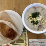 サリュート - 白ボルシチランチ 980円(税別)