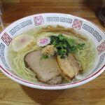 らーめん心繋 - 生姜塩(細麺、770円)