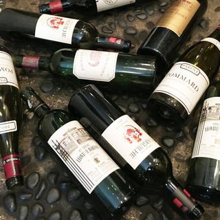 ワインも安くて美味しいものを