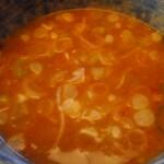 大勝軒 しのや - スープ割