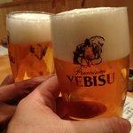 旬楽 飃 - ビールはヱビス!