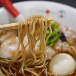 Japanese Soba Noodles 蔦 - チャーシュー味玉醤油SOBA