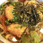蕎屋 陽楽 - 料理写真:茄子と納豆の揚げ出しそば
