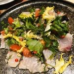 Griddle Kitchen MAI - サワラのカルパッチョ