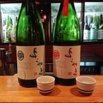 日本酒庵 吟の杜 - よこやま10 純米吟醸生、よこやま1814 純米吟醸生
