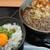 鶴巣パーキングエリア(下り線)スナックコーナー - 料理写真:海鮮かき揚げ蕎麦とミニしらす丼