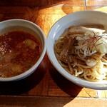 122255463 - 濃厚海老ワンタンつけ麺