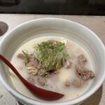 香季庵 - 牛すじ大根煮 白湯仕立て