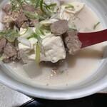 香季庵 - 豆腐と牛すじ
