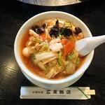 広来飯店 - 料理写真:什景湯麺 825円