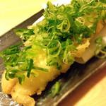 彩食献味粋込 - 地穴子の天ぷら