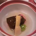 12226781 - 桜餅のあんかけ