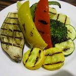 12226969 - 野菜のグリル@980円