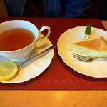 スパゲティハウスMACKY - 紅茶 デザート