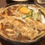 122261412 - 天ぷら入り味噌煮込みうどん